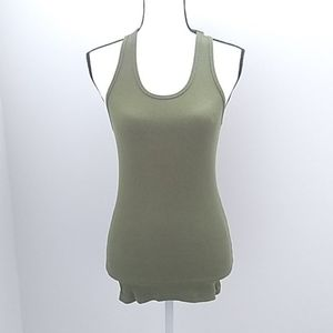 Marc Jacobs Olive Green Tank Top